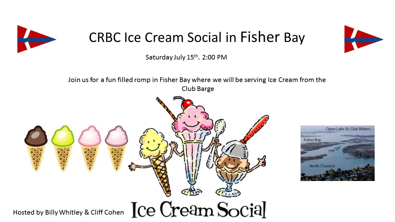 Ice Cream Social in Fisher Bay @ the Bay