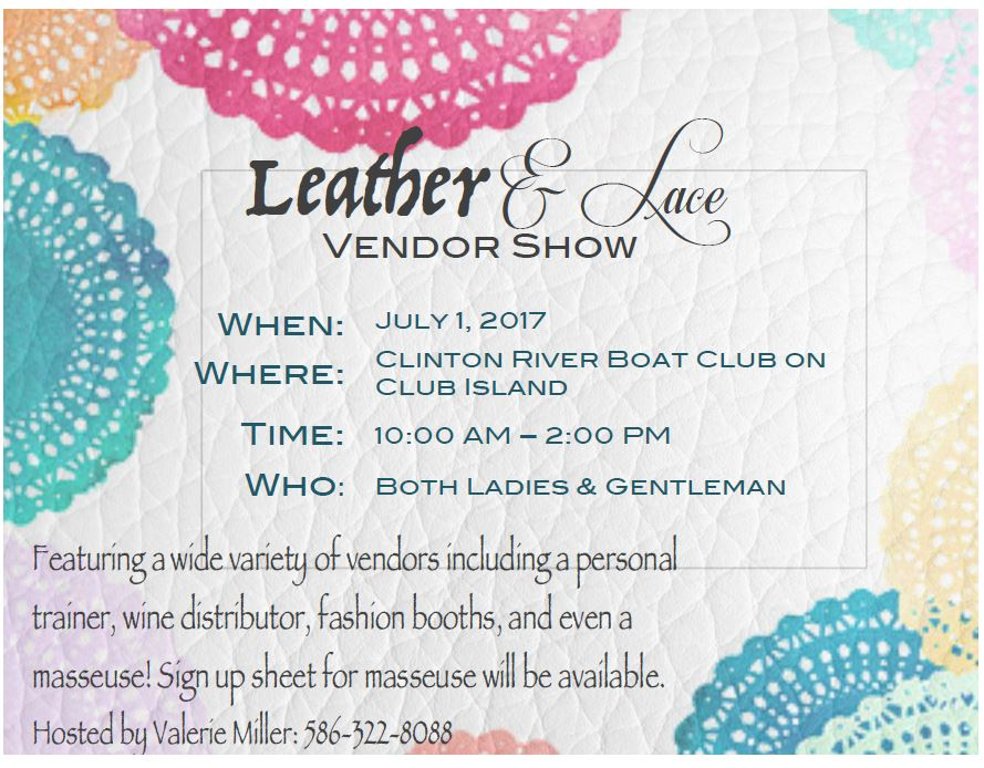 Leather & Lace Event Sponsored by Valerie Miller