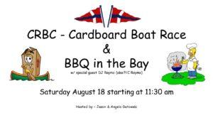 Cardboard Boat Race & BBQ @ Club Island