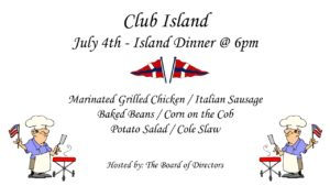 CRBC - July 4th BBQ @ CRBC Clubhouse