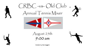 CRBC / Old Club - Tennis Mixer @ Tennis Courts