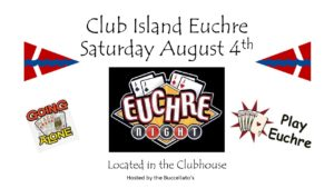 Island Euchre @ CRBC Clubhouse