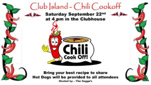 Chili Cook Off @ CRBC Clubhouse