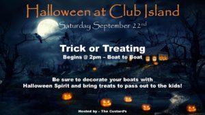 Halloween Party @ CRBC - North & South Harbors